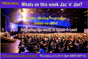 whats on Jac & Jan